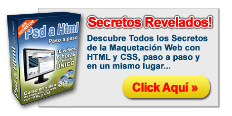 PSD a HTML - Secretos Revelados